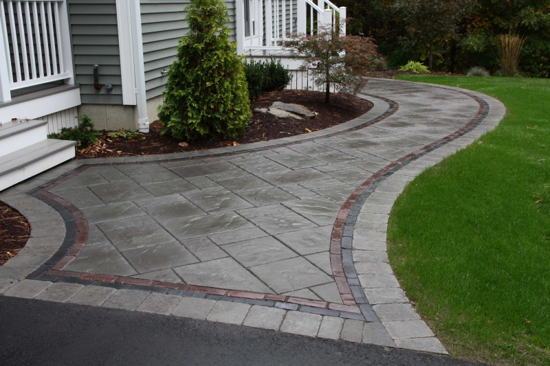 Pavers Amp Segmented Walls Patterns And Colors Whitmore S
